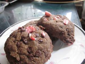 Double Chocolate Peppermint Cookie